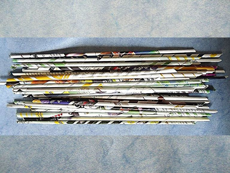 tubos de papel