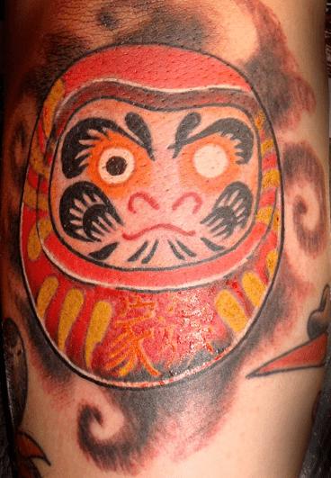 Historia Y Significado De Los Tatuajes De Daruma