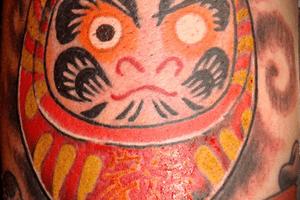 Tatuaje de Daruma