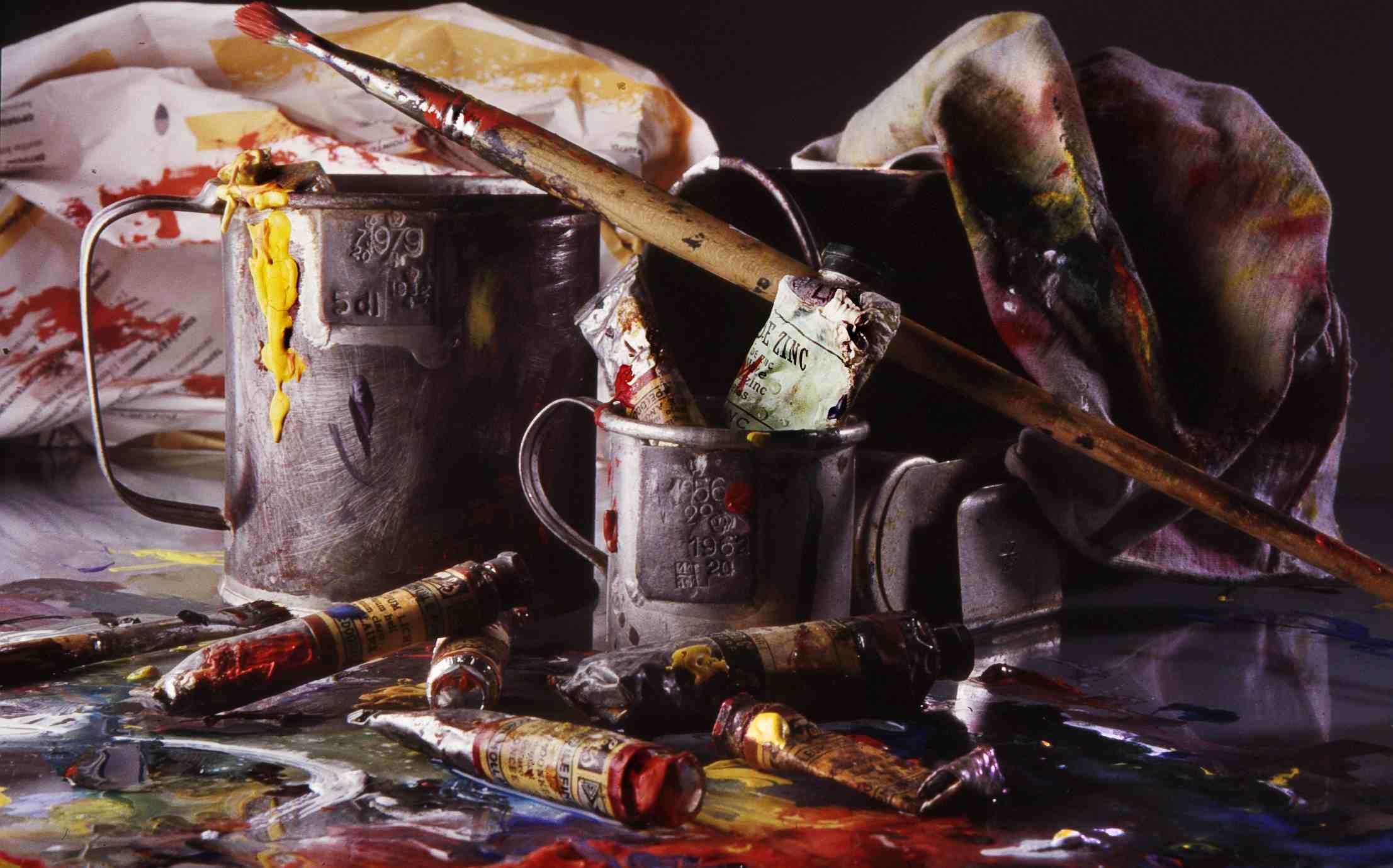 Materiales para pintar al óleo