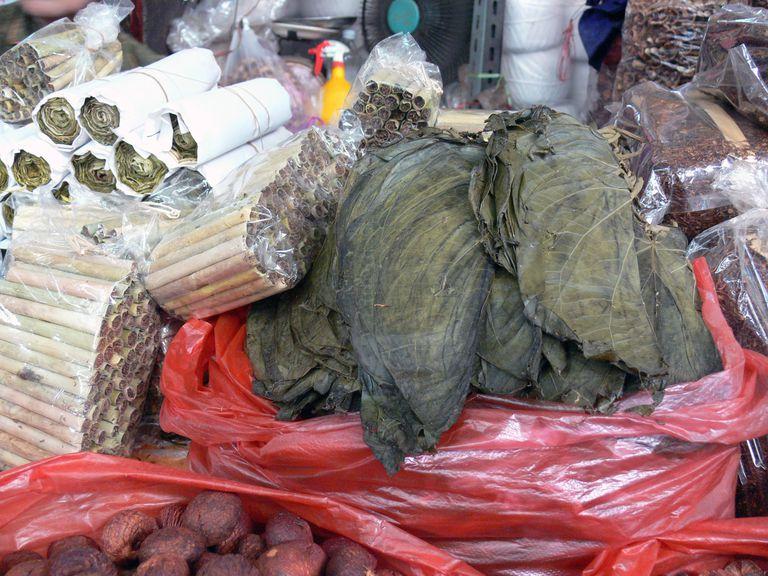 tabaco en un mercado