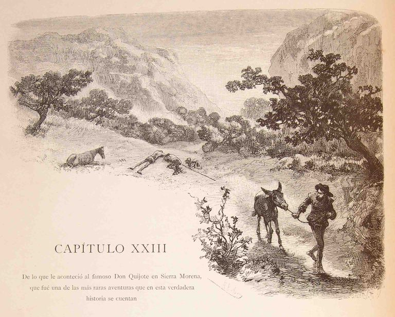 Don quijote capitulo 23