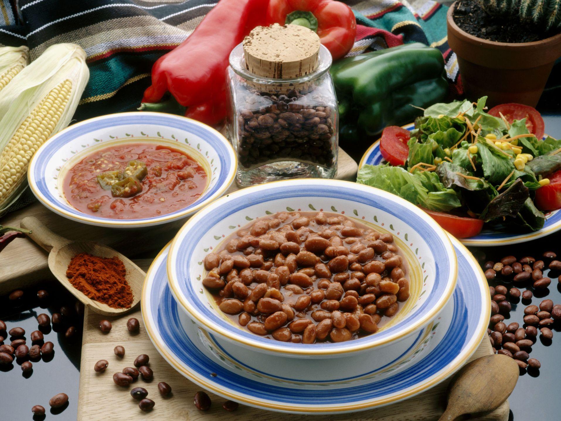 frijoles dieta mediterranea