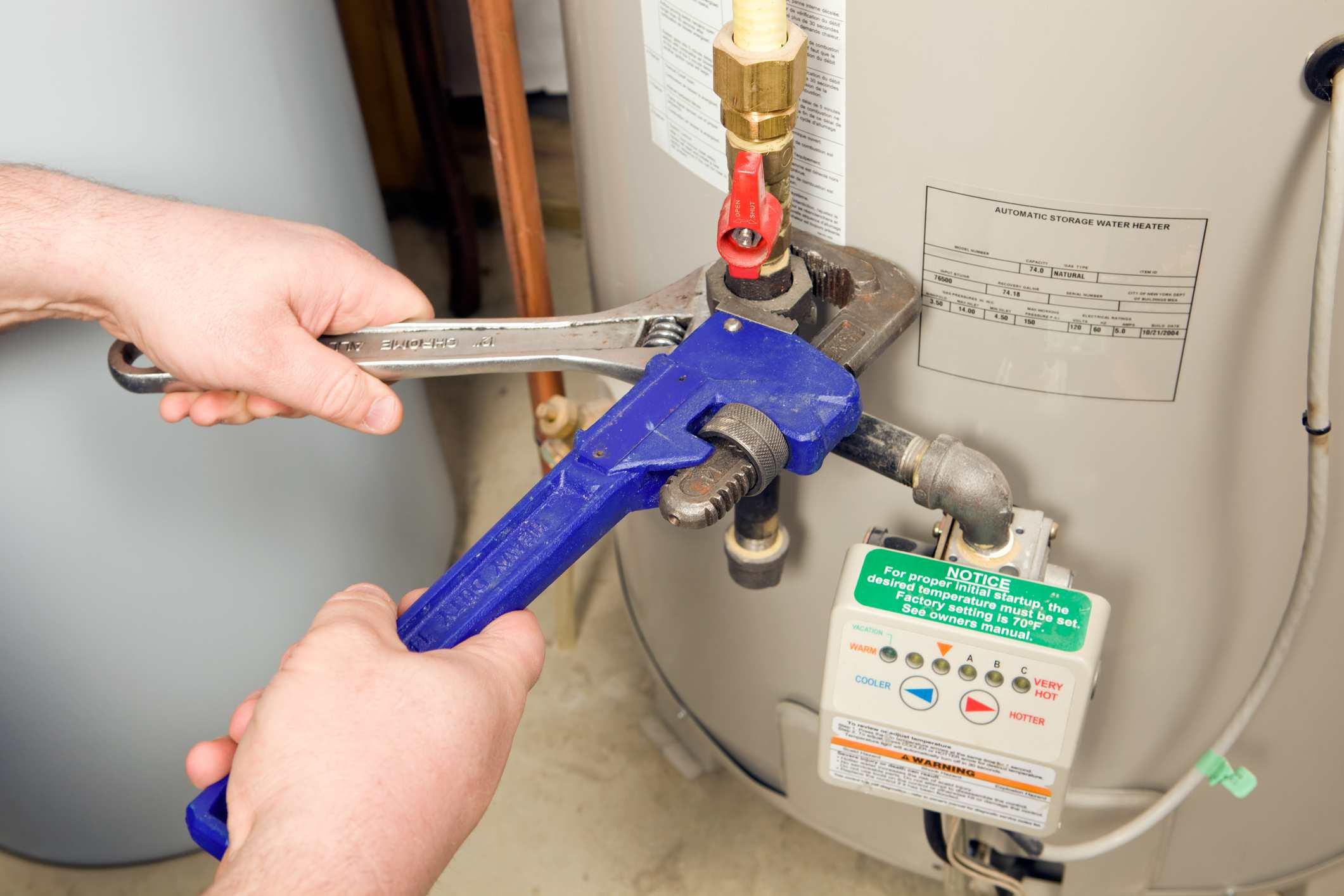 Cambiando un boiler
