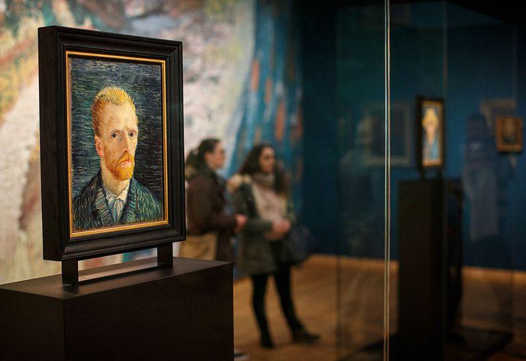 autorretrato de Vincent van Gogg