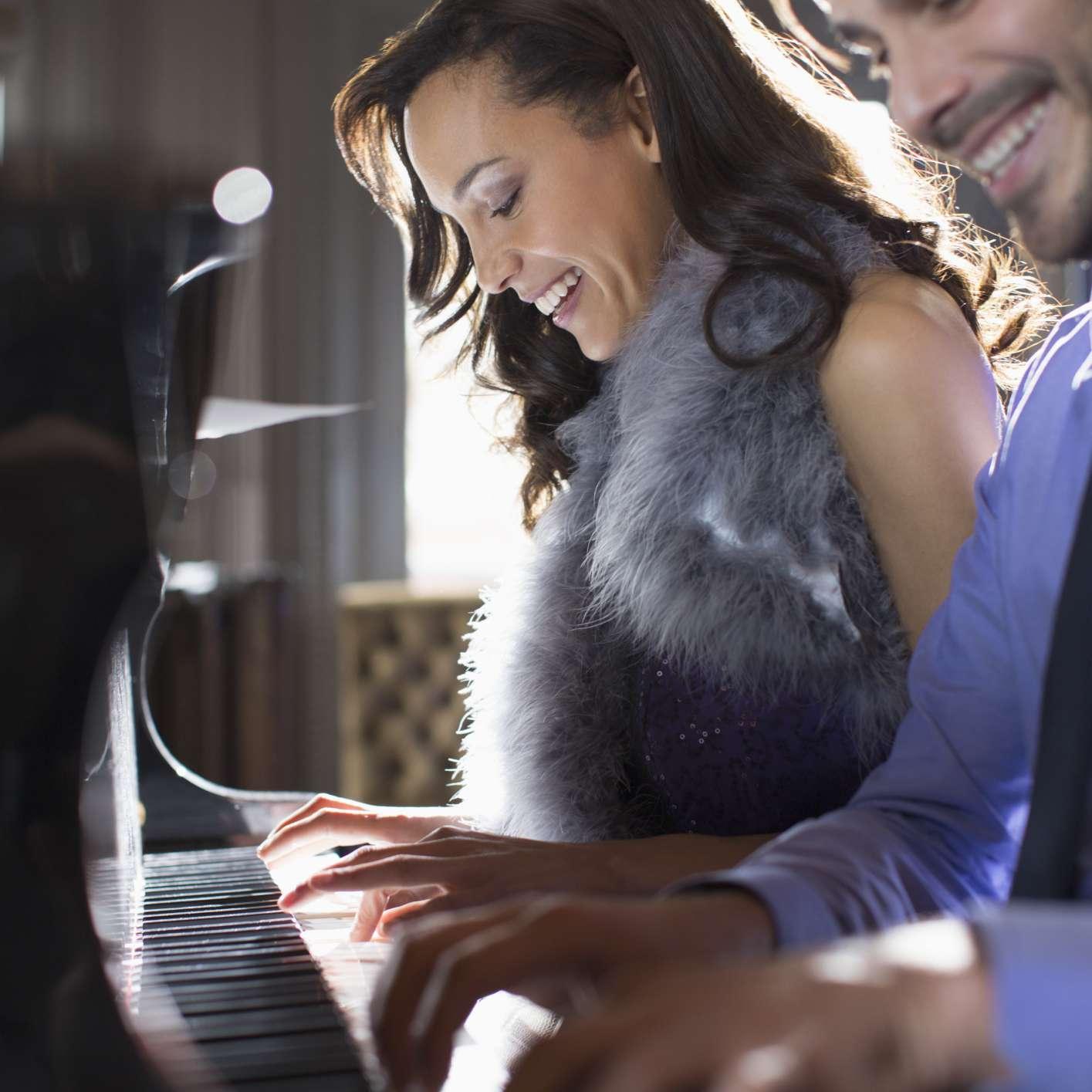 El amor se expresa con la música