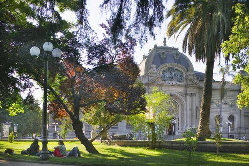 Museo de Bellas Artes y Parque Forestal