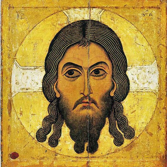 Cristo ajiropitos del Mandylion