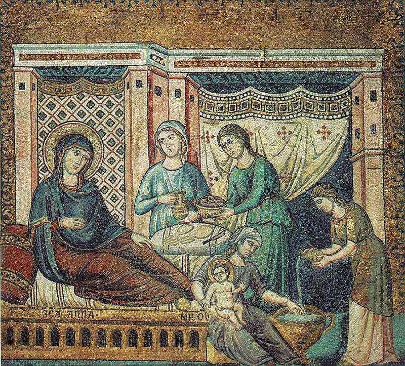Nacimiento de Jesús de Cavallini