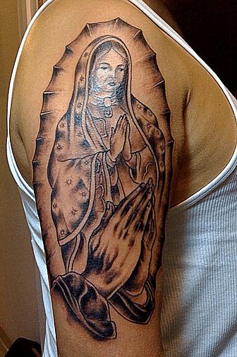 Tatuajes virgen María