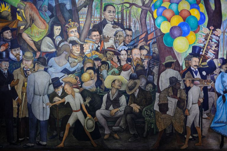 Diego Rivera Biografia Obras Temas Y Estilo