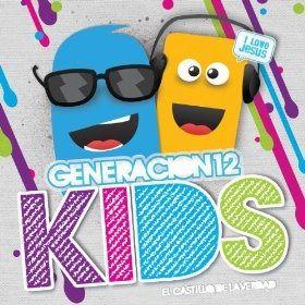 Carátula álbum El castillo de la verdad, de Generación 12 Kids