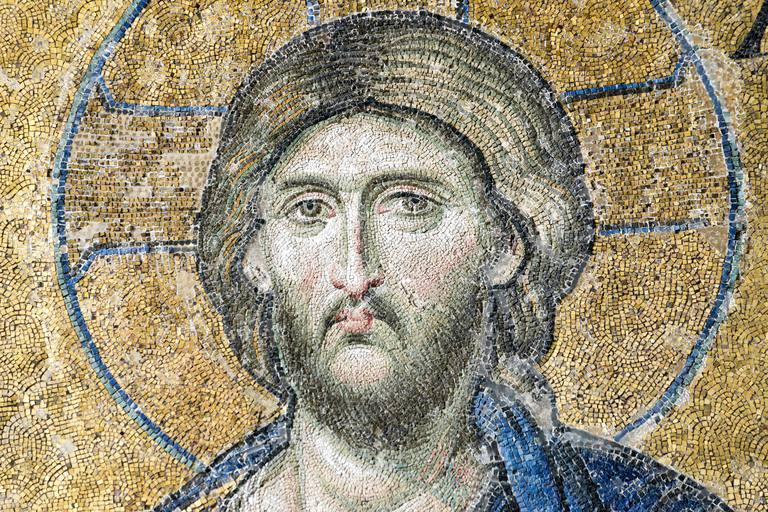 Mosaico de Jesús