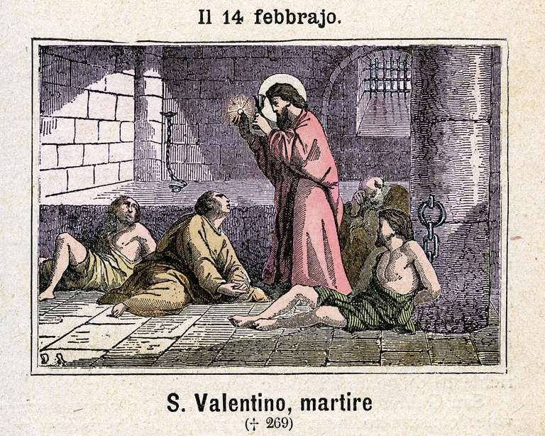 The martyrdom of St. Valentine