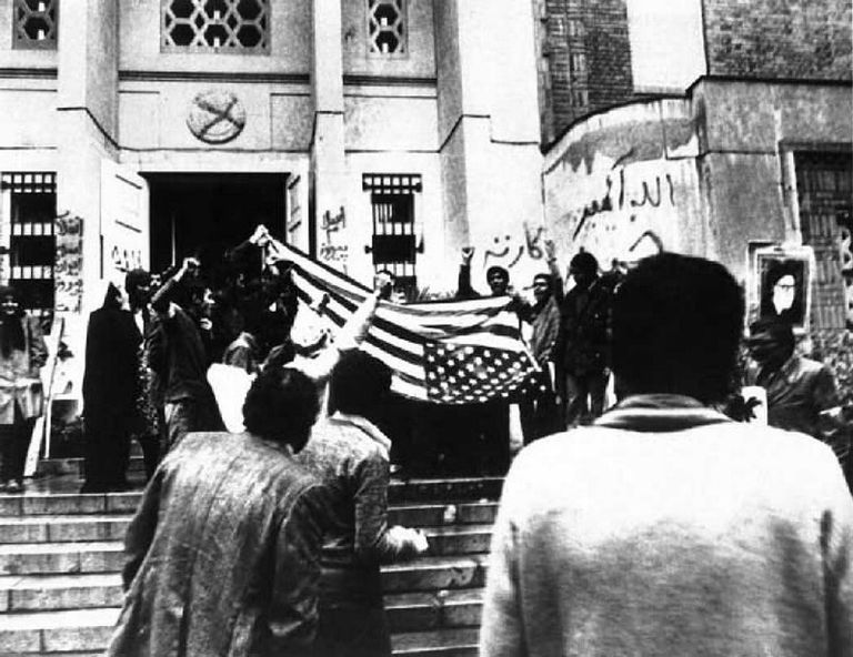 Resultado de imagen para Irán y Estados Unidos 1979
