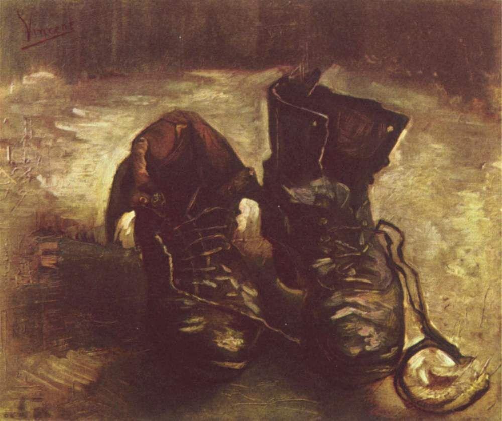 Vincent van Gogh, zapatos viejos