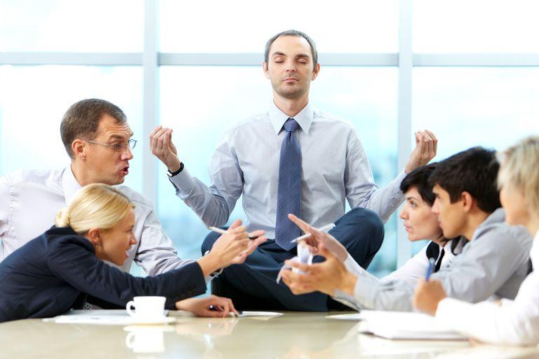 estrés y meditacion en el trabajo