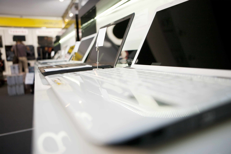 Laptops en tienda