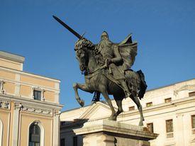 Burgos: monumento al Cid