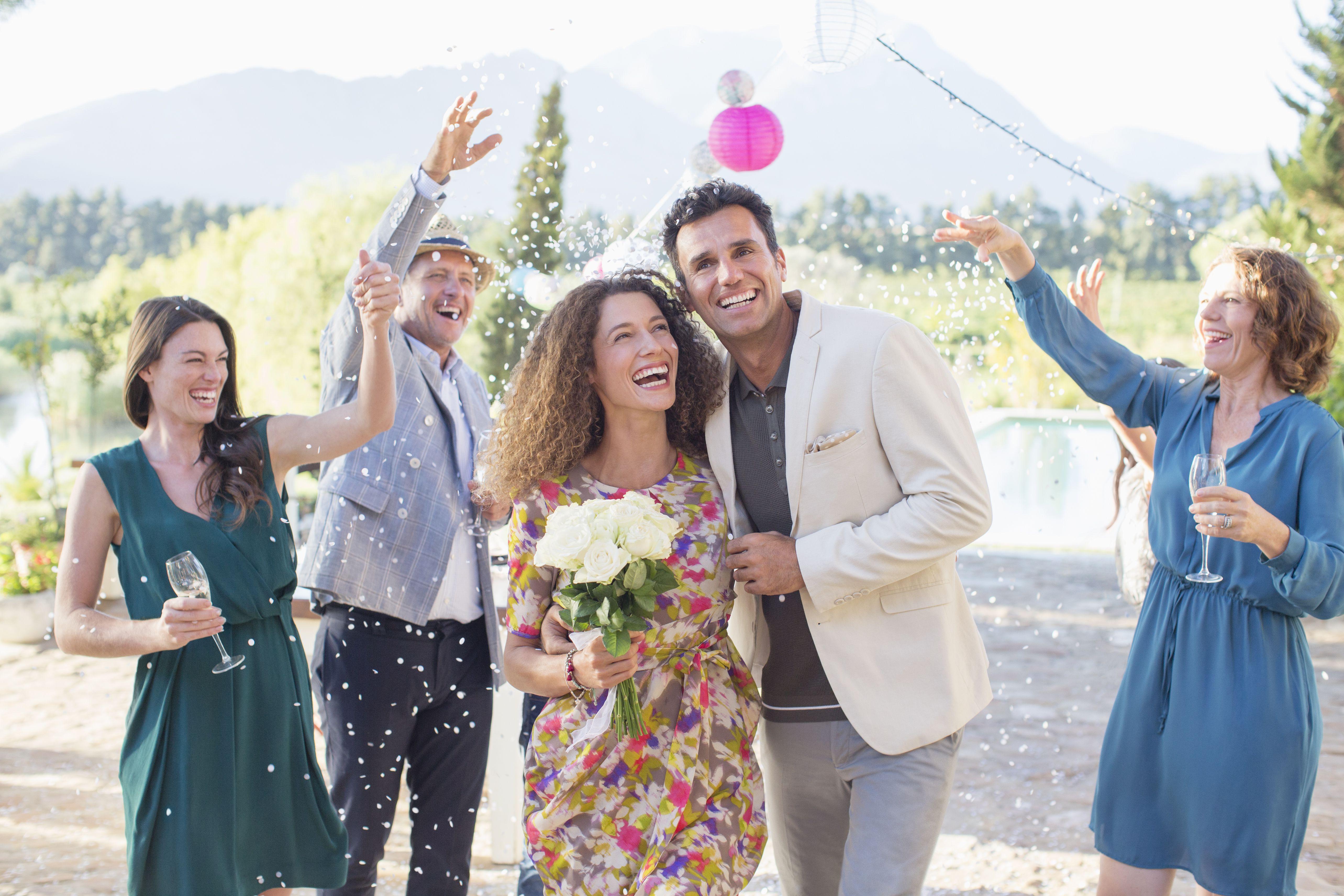 Una boda casual puede ser una celebración fabulosa y super relajada.