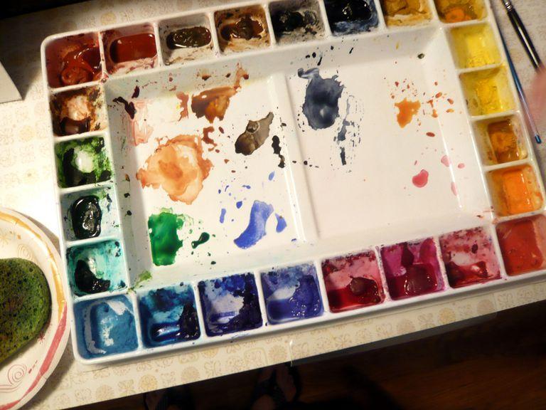 Materiales Para Pintar A La Acuarela