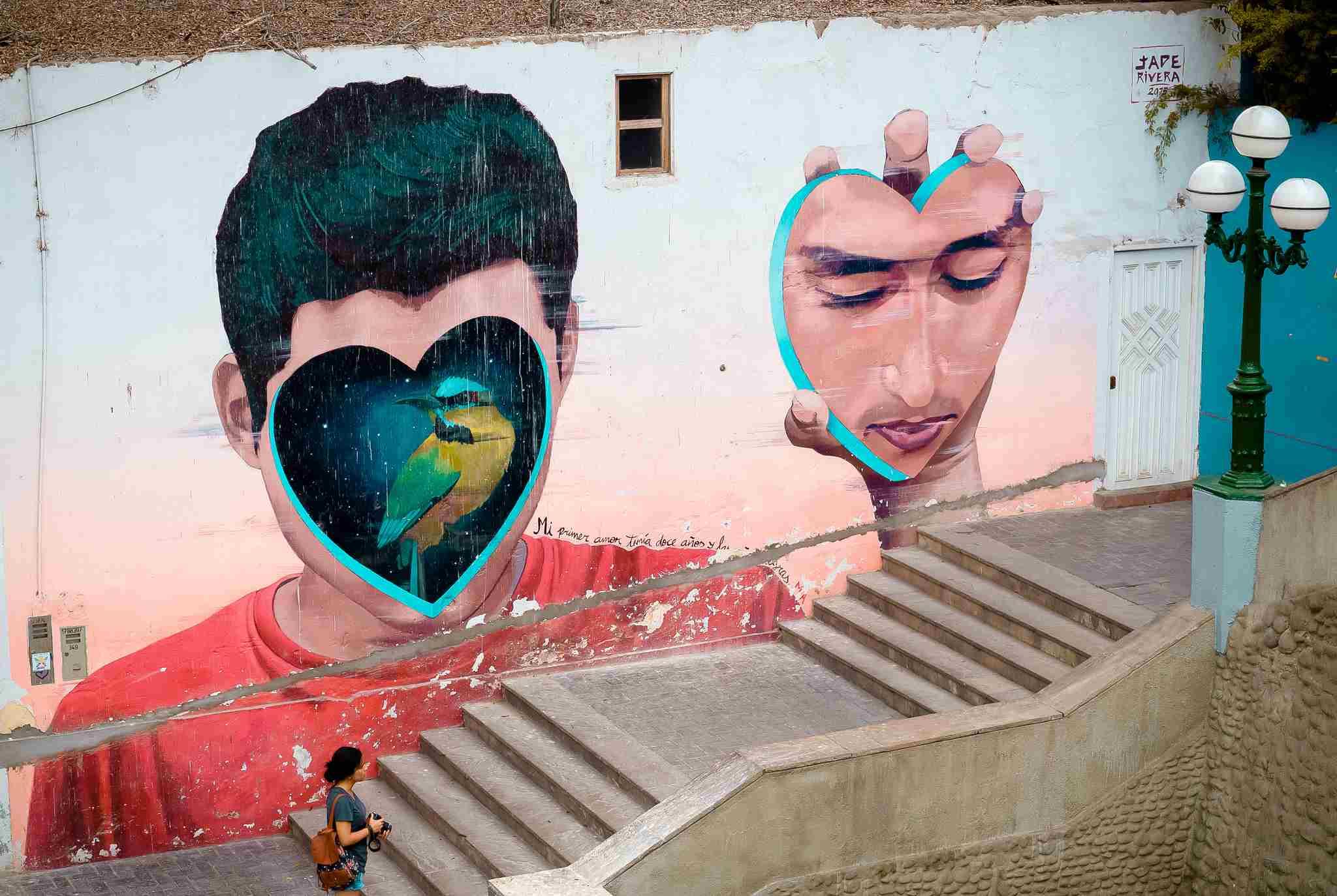 mural en perú