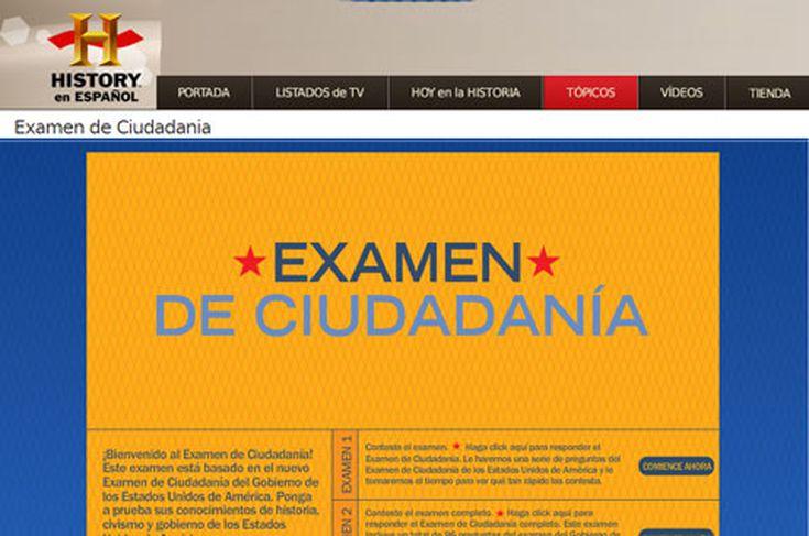 se puede hacer el examen de ciudadania en espanol