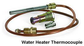 Termopar de calentador de agua