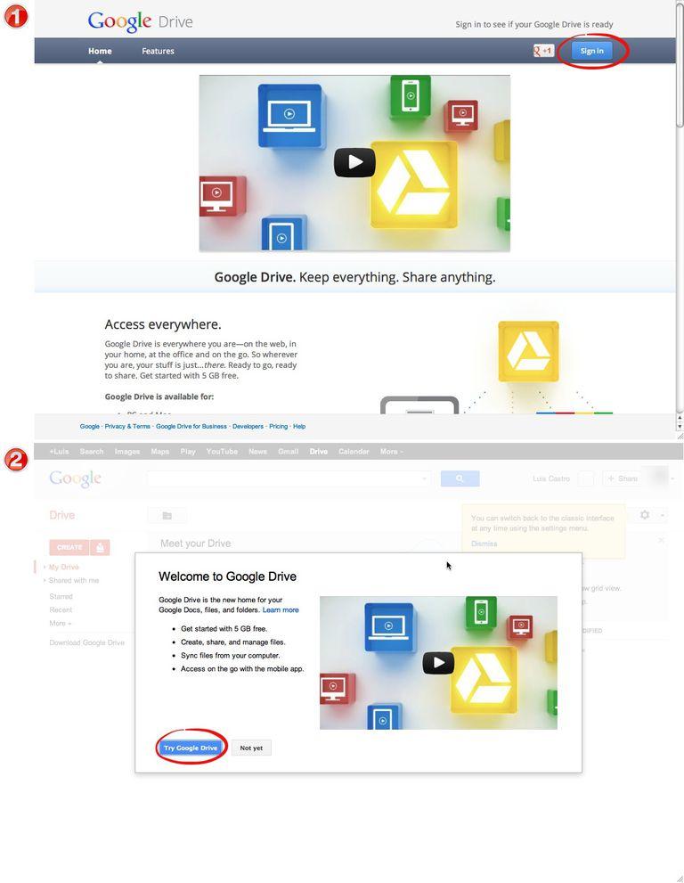 descargar google drive para mac