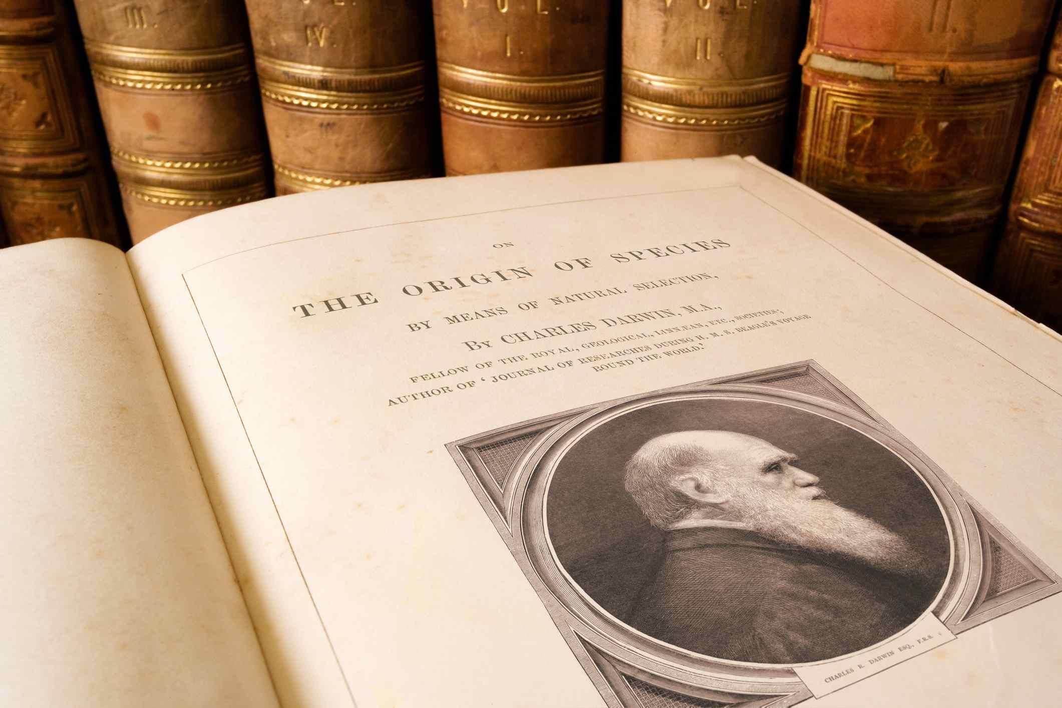 On the Origin of Species de Charles Darwin