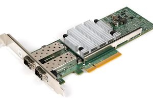 A network interface card (NIC).