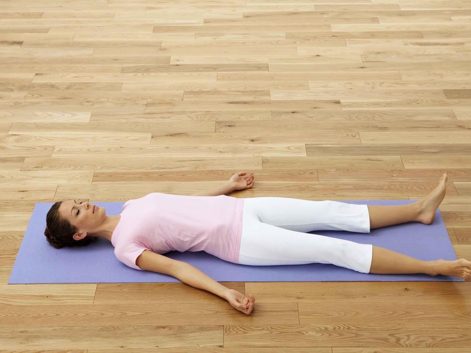 Image result for postura del cadaver yoga