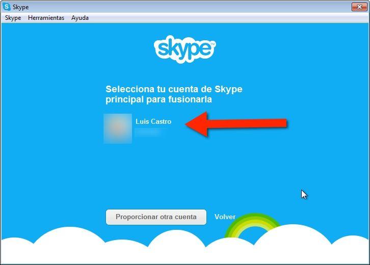 Como usar Hotmail con Skype