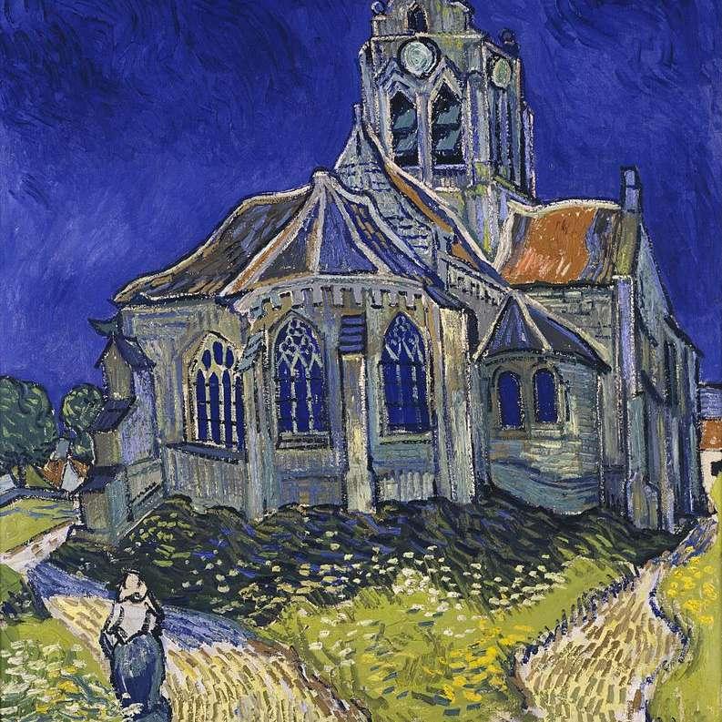 Vincent van Gogh: Iglesia Auvers