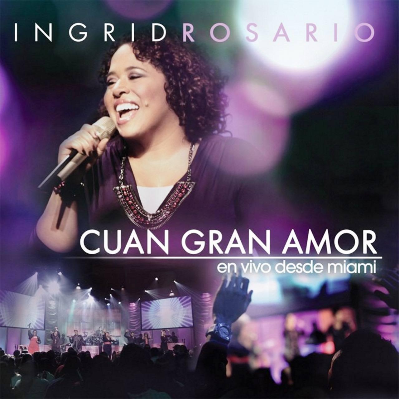 Carátula álbum Cuan gran amor, de Ingrid Rosario