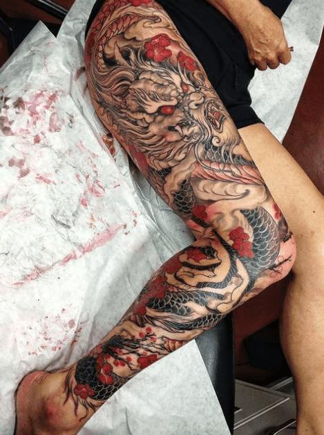 Tatuajes De Dragones Japoneses