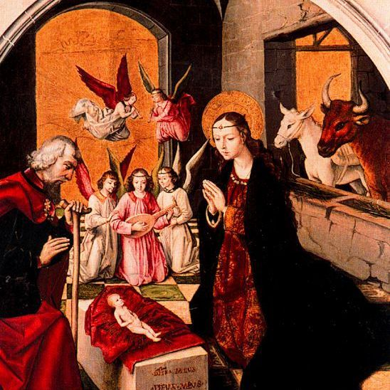 Nacimiento de Jesús de Berruguete