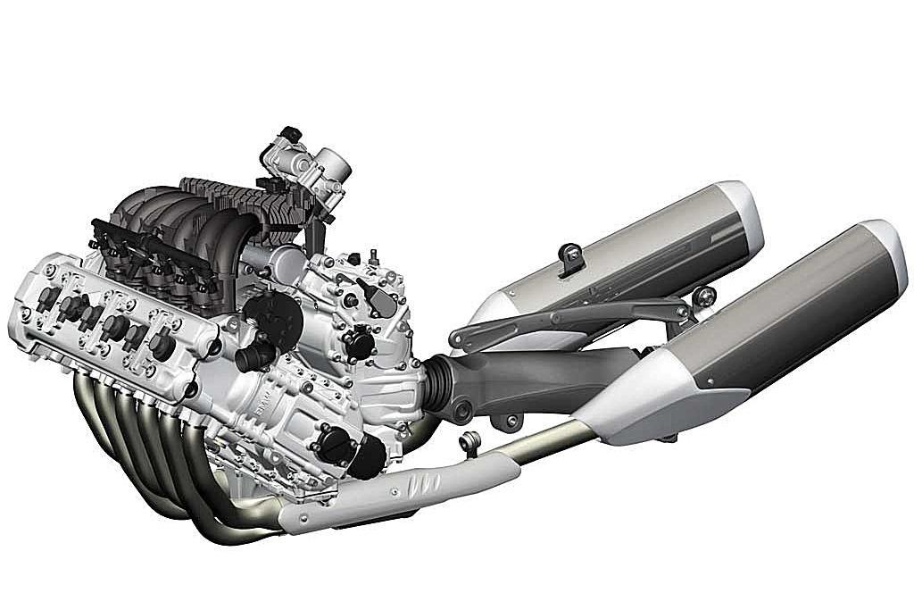 Motor hexacilindrico