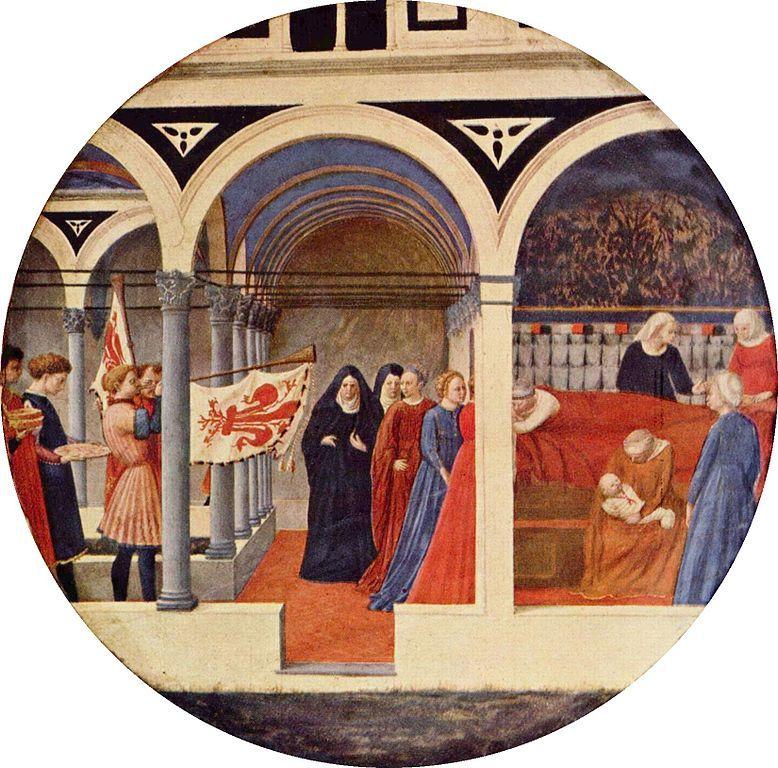 Nacimiento de Jesús de Masaccio