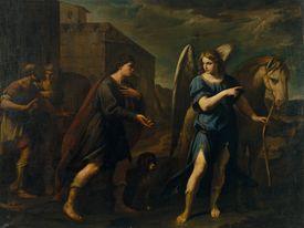 Tobias encuentra al arcángel Rafael