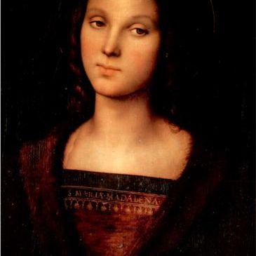 Santa María Magdalena por Pietro Perugino