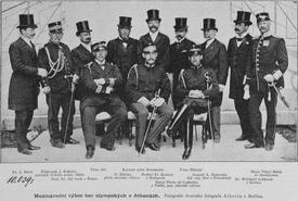 Miembros del Comité Olímpico Internacional en 1896