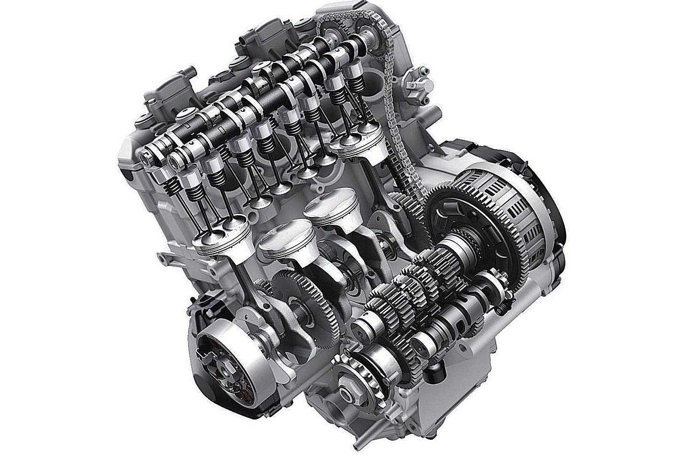Motor tetracilindrico