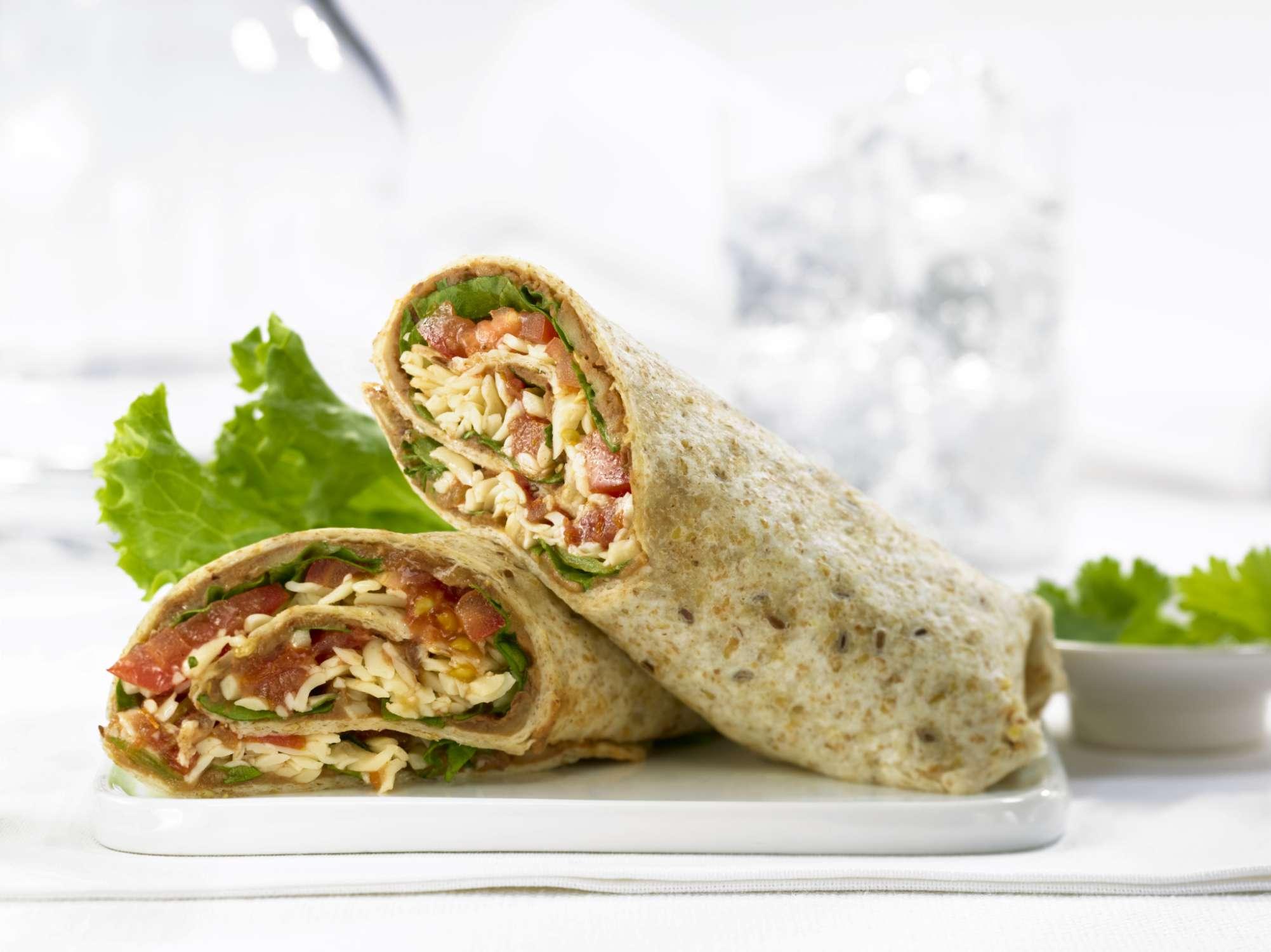 7 desayunos nutritivos y saludables tortilla de maiz con vegetales