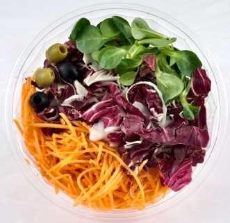 Una ensalada fresca