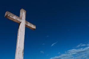 Una cruz