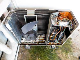 Unidad condensadora para aire acondicionado