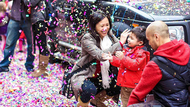 Celebración del año nuevo Chino en NYC