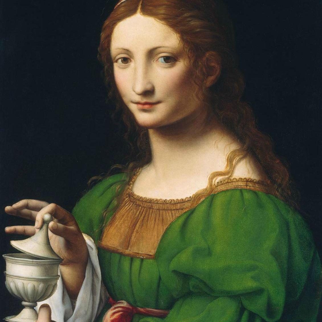 La Magdalena por Bernardino Luini