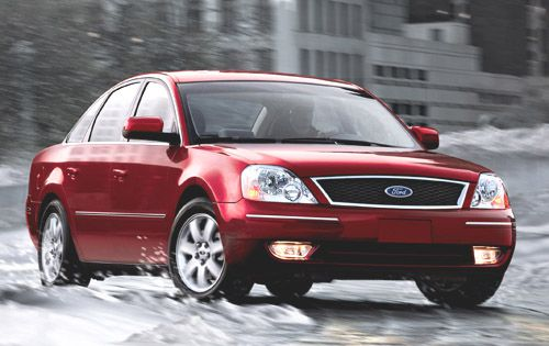 El Limited Ford Five Hundred modelo 2006